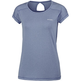 Columbia Peak to Point Shortsleeve Shirt Women grey